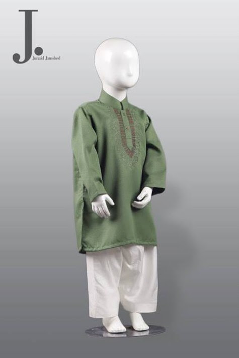 Kids-Child-Wear-Kurta-Shalwar-Kameez-New-Fashionable-Clothes-Collection-2013-by-Junaid-Jamshed-5