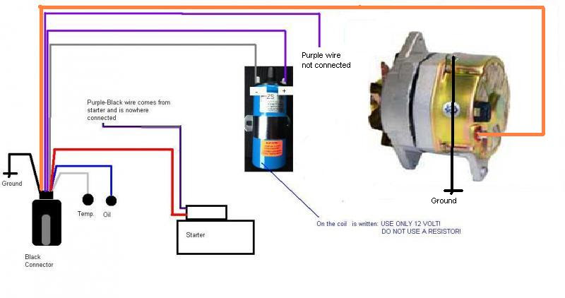 Wiring Prestolite Diagram Alternator 6222y