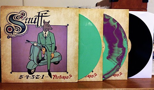 Snuff - 5-4-3-2-1-Perhaps? LP - Green Vinyl (/100) & Purple w/ Green Haze Vinyl (/407) & Black Vinyl by Tim PopKid