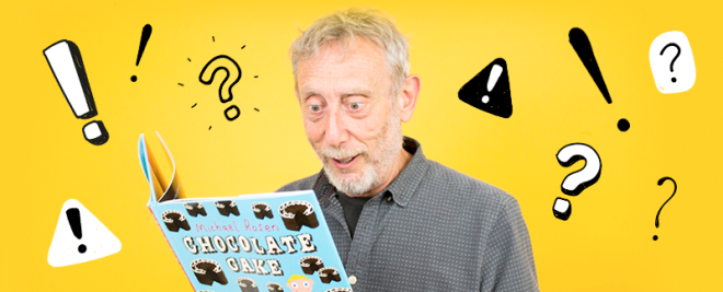 Become a master storyteller with top-tips from Michael Rosen