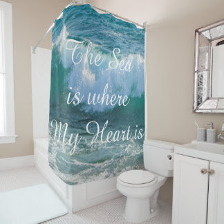 Quotes Shower Curtains  Zazzle