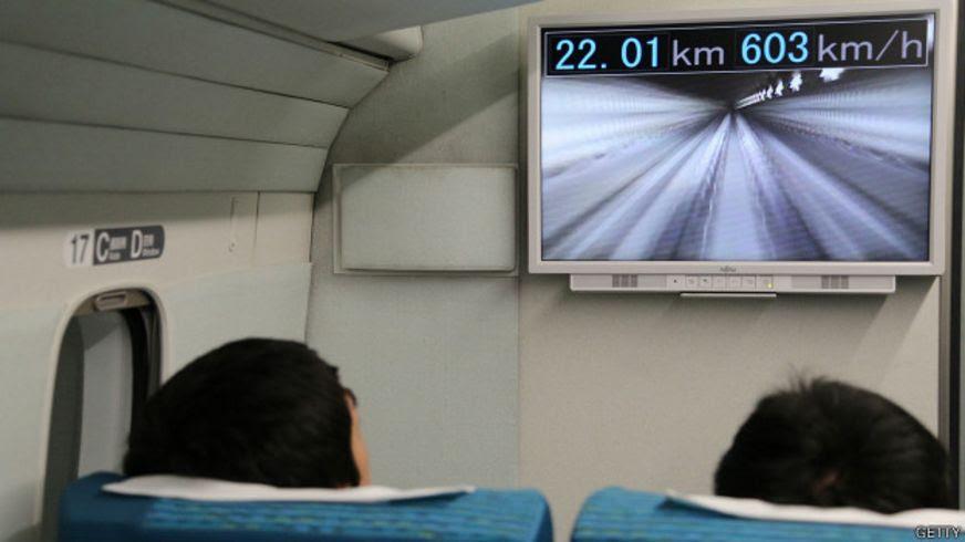 Tren ultra rápido japonés JR Tokai Maglev