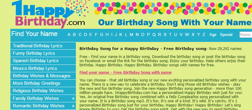 Best Happy Birthday Song Mp3 Free Download – Wonderful Image