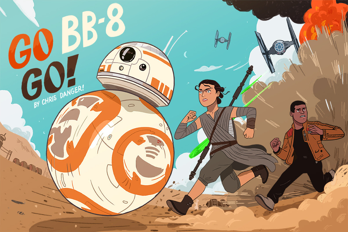Star Wars: The Force Awakens Children's BookByChris Danger