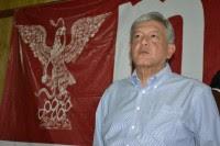 López Obrador estuvo este martes en León, Guanajuato. Foto: Especial.
