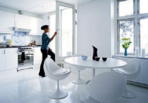 White Luxury Apartment Design Ideas | Design, Pictures, Ideas