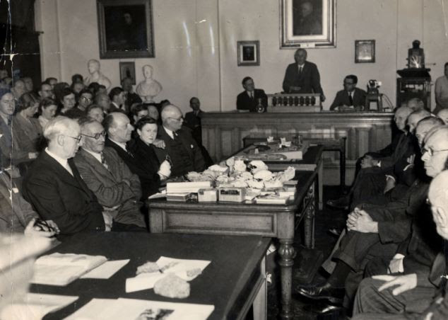 Exposed: The 1953 meeting in which Geological Society revealed the Piltdown Man to be a hoax