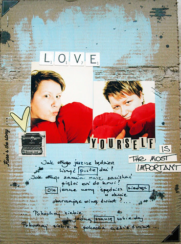 {<3 yourself} - envelope album week 6 -<M-A-20>