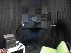 Sound Absorption for Voice Recording Room » CheesyCam