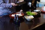 工房だより:布目銘々皿の完成お祝い会