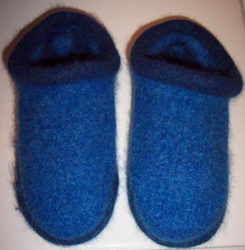 Fulled slippers