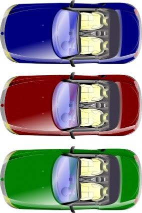 1050+ Gambar Mobil Kartun Dari Atas Terbaik