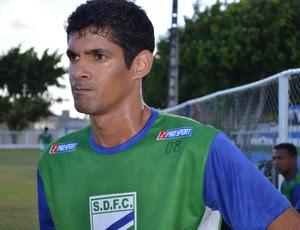 Fabinho Recife é o novo reforço da equipe (Foto: Felipe Martins/GLOBOESPORTE.COM)