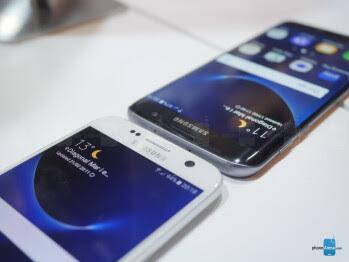 Samsung Galaxy S7 vs S7 Ujung: pandangan pertama