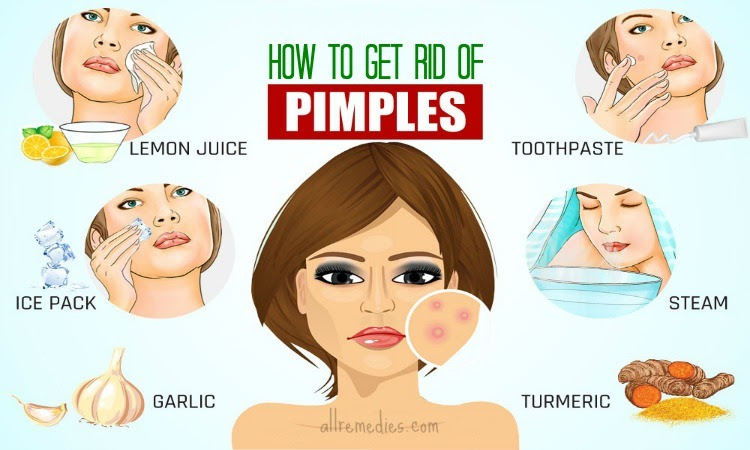pimples on dry skin home remedies