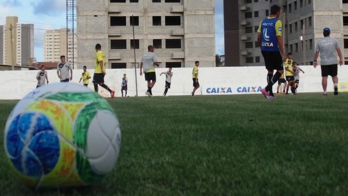 Treino ABC (Foto: Carlos Arthur da Cruz/GloboEsporte.com)