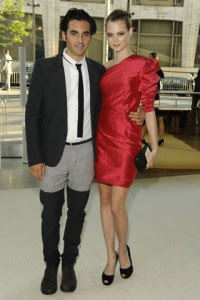 Yigal Azrouel's refernce to Puss In Boots on the I.M.W. Not Bessed Dressed List at the CFDA Awards
