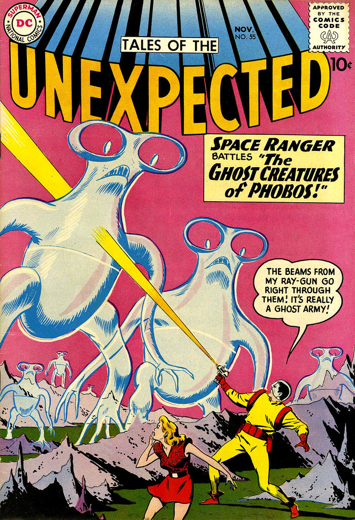 Tales of the Unexpected #55 (DC, 1960) Bob Brown cover