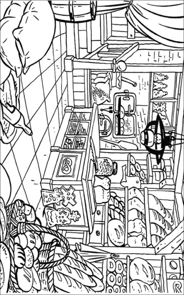 Download Kids-n-fun.com   Coloring page Bakery Bakery