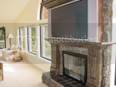 RC: Mounting a flat screen above Stacked Stone fireplace ? (Page 1 ...