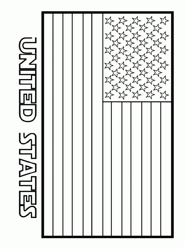 Flags of countries coloring pages 22