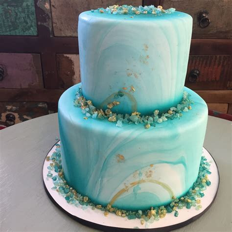 Turquoise Marble ? Mary's Cakes and Pastries