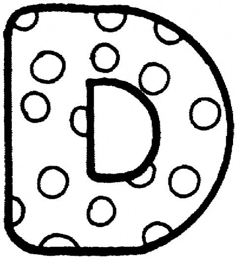 Letter Coloring Pages 8 Coloring Kids