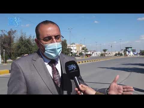 بالفيديو اجواء الحظر في محافظة النجف الاشرف