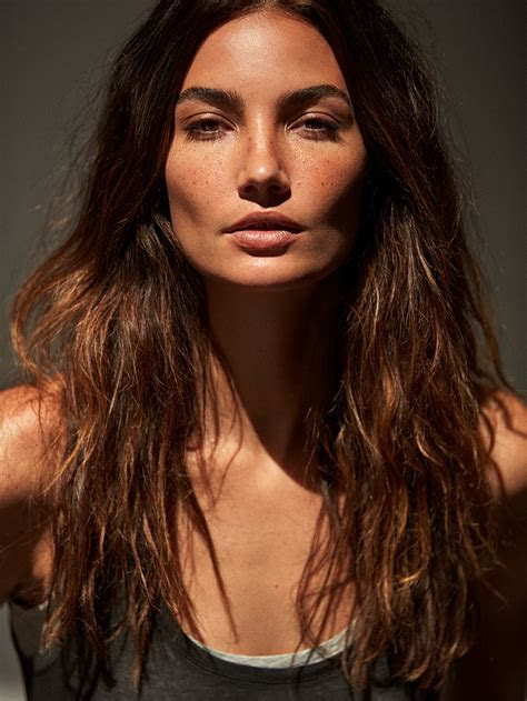 Telva Magazine June 2017 Lily Aldridge by Tomas de la