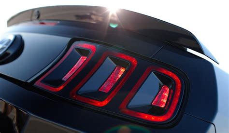 ford mustang   shy  led lights