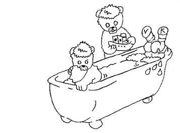 rasane sepoh kleurplaat doop baby