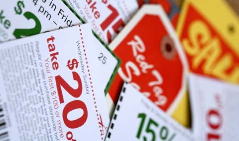 free coupons by mail. a few more free coupons to