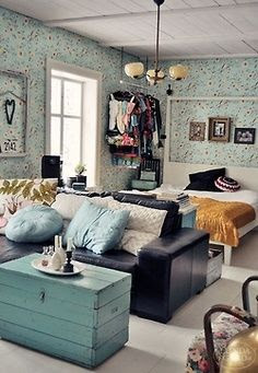 small space style suitable for a container home