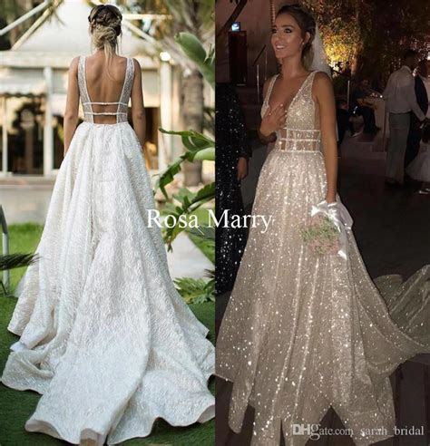 Discount Sparkly Plus Size Country Wedding Dresses 2018