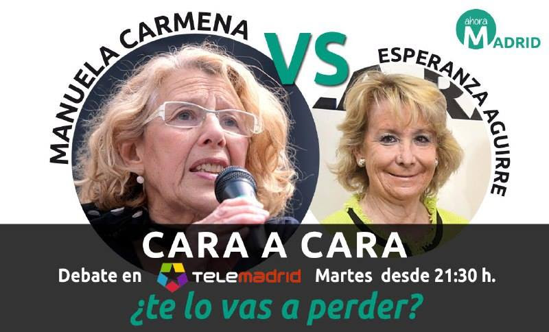 Manuela Carmena, debate