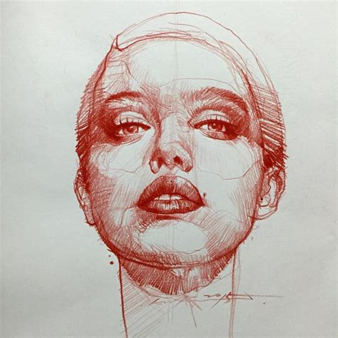 art  alvin quick christmas sketch