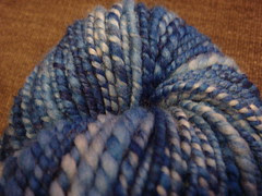 tie dye blue