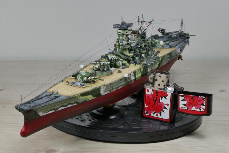 1/700 Fujimi Yamato(WoWS Camo scheme)   iModeler