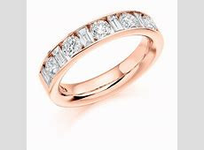 Rose Gold Eternity Band   Diamond Eternity Rings   Waterford
