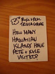 Kyle and Pete Trivia Game Question (um, obvious draft)
