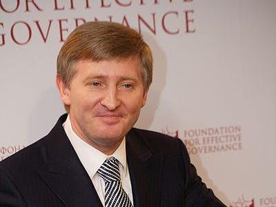 The richest person in Ukraine: Rinat Akhmetov