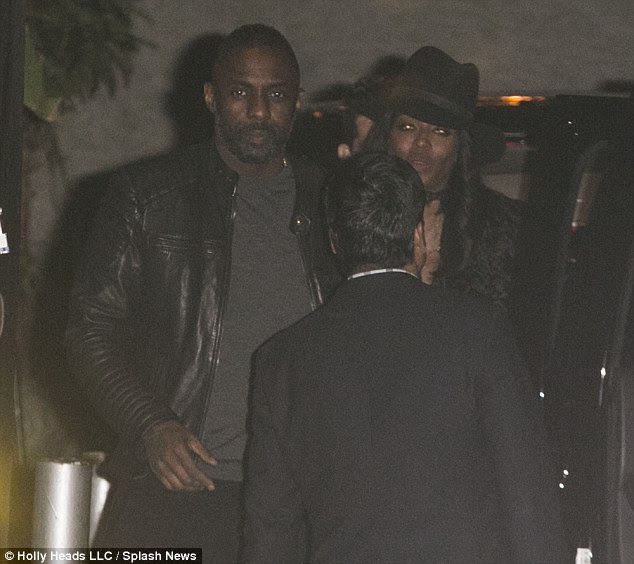Friends night out:News of their separation comes after the hunk was spotted enjoying a night out with supermodel Naomi Campbell. The pair have been pals since 2014 (the pair are pictured last week in London)