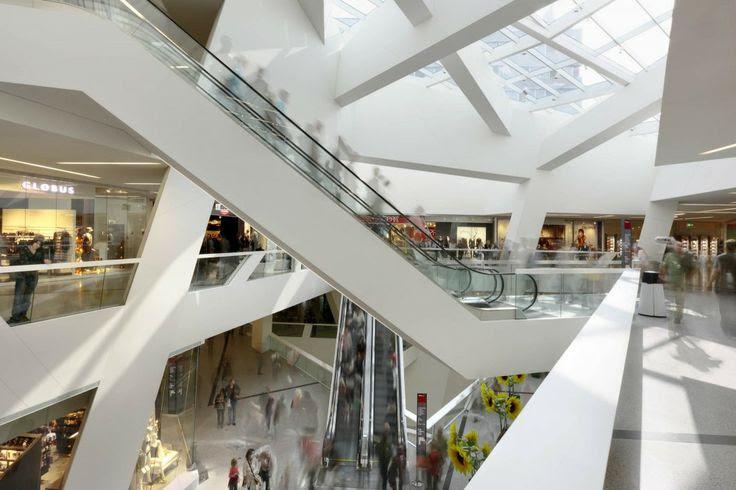inside - Westside Bruennen / Daniel Libeskind