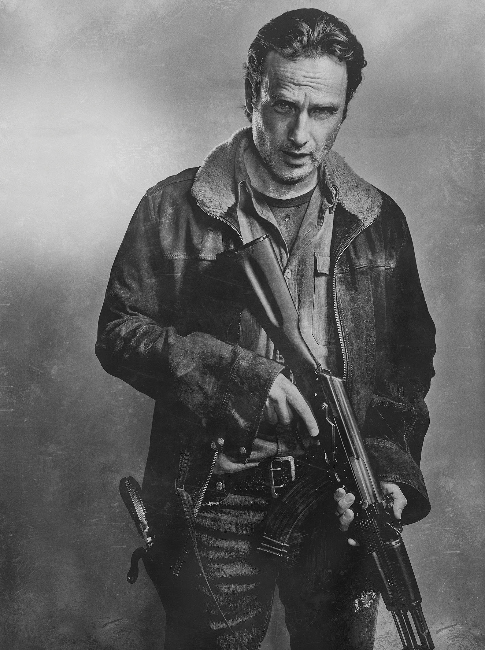 Season 6 Character Portrait Rick Grimes Walking Dead Photo