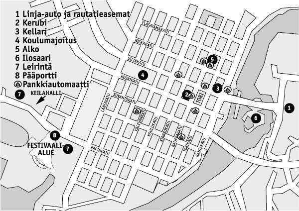 Joensuun Keskussairaala Kartta