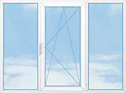 окно трехстворчатое