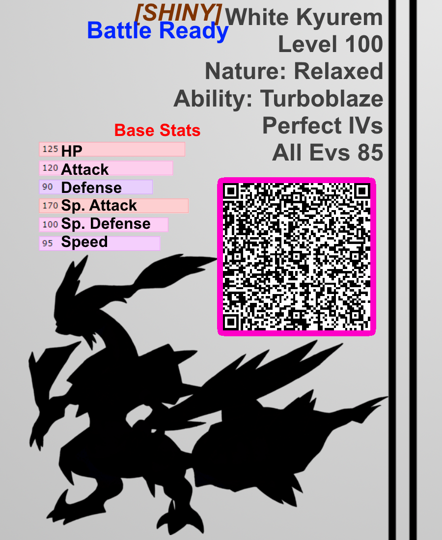 pokemon x and y rare candy qr code
