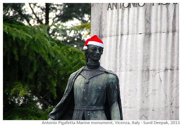 Vicenza, walking tour - images by Sunil Deepak, 2013
