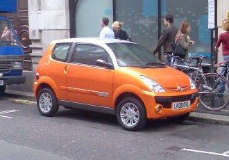 New Mega City electric car