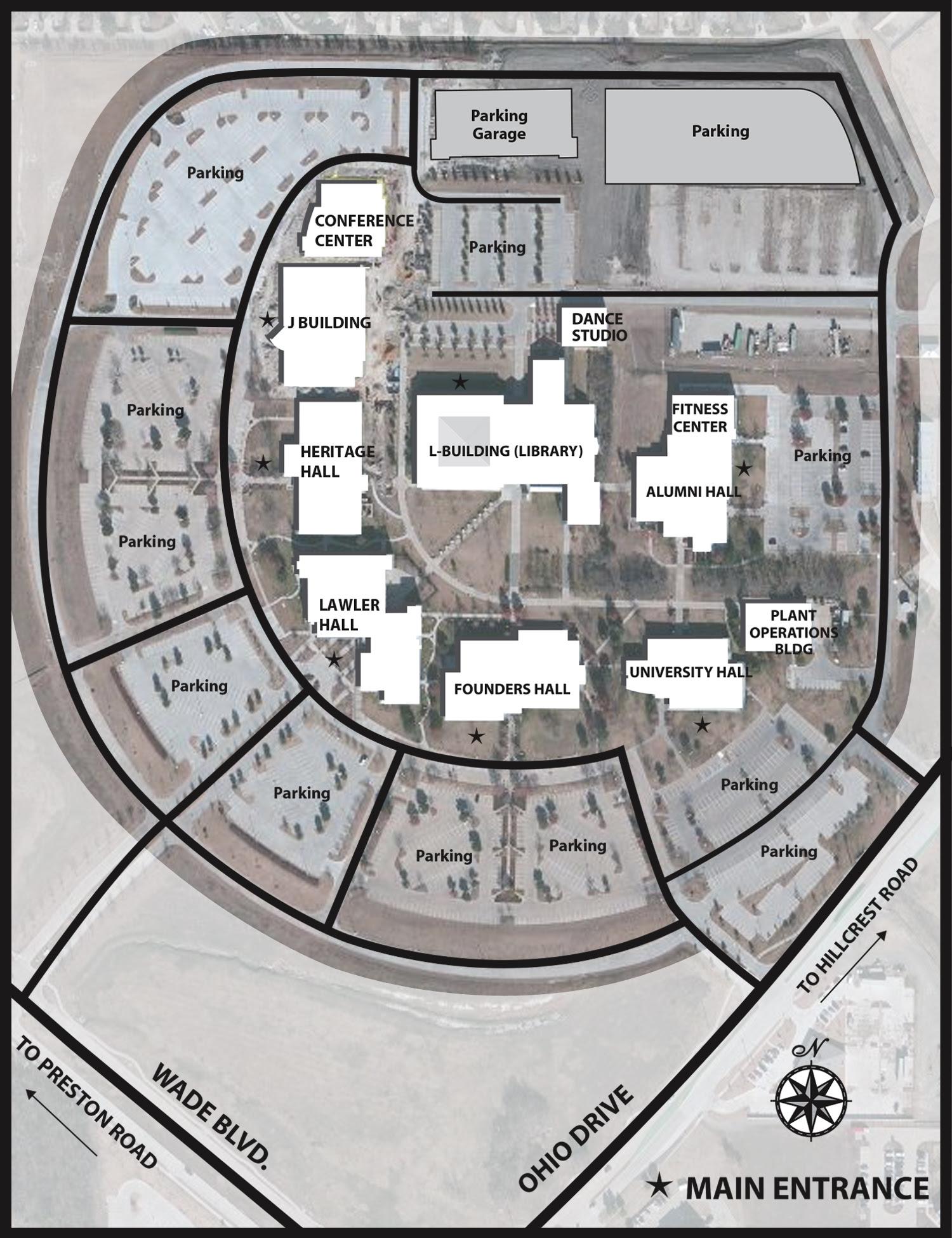 Preston Ridge Campus Map Collin College Preston Ridge Campus Map | World Map Gray